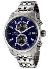 Invicta Men's II Blue Dial Stainless Steel