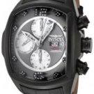 Invicta Men's Lupah Automatic Chronograph Diamond Black Leather