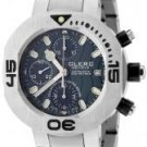 Clerc Men's CXX Scuba 250 Automatic Chronograph Stainless Steel