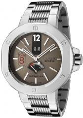 Clerc Men's Icon 8 Automatic Grey Dial Stainless Steel