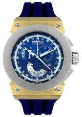 Invicta Men's Reserve Akula Multi-Function Blue Rubber