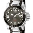 Invicta Men's Reserve Grey Dial Black Ion Plated & Stainless Steel