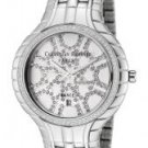 Christian Bernard Women's White Crystal Stainless Steel (L)