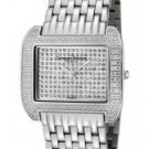 Christian Bernard Women's Intimate White Crystal Silver Dial Stainless Steel (S)