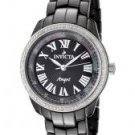 Invicta Women's Angel Diamond Black Dial Black Ceramic