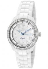 Invicta Women's Angel Diamond White Dial White Ceramic