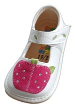 SQUEAKER SNEAKERS Girl Apple Shoe