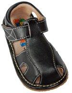 Squeaker Sneaker Black Sandal