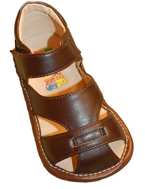 Squeaker Sneaker Brown Fisherman Sandals