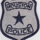 City of Houston TX Silver Navy Police Patch Shoulder