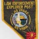 Las Vegas Nevada Law Enforcement Explorer Patch Uniform