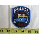 NYPD Emergency Squad Police Patch Uniform New York