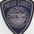 Santa Maria CA Police Cadet Patch Shoulder Uniform