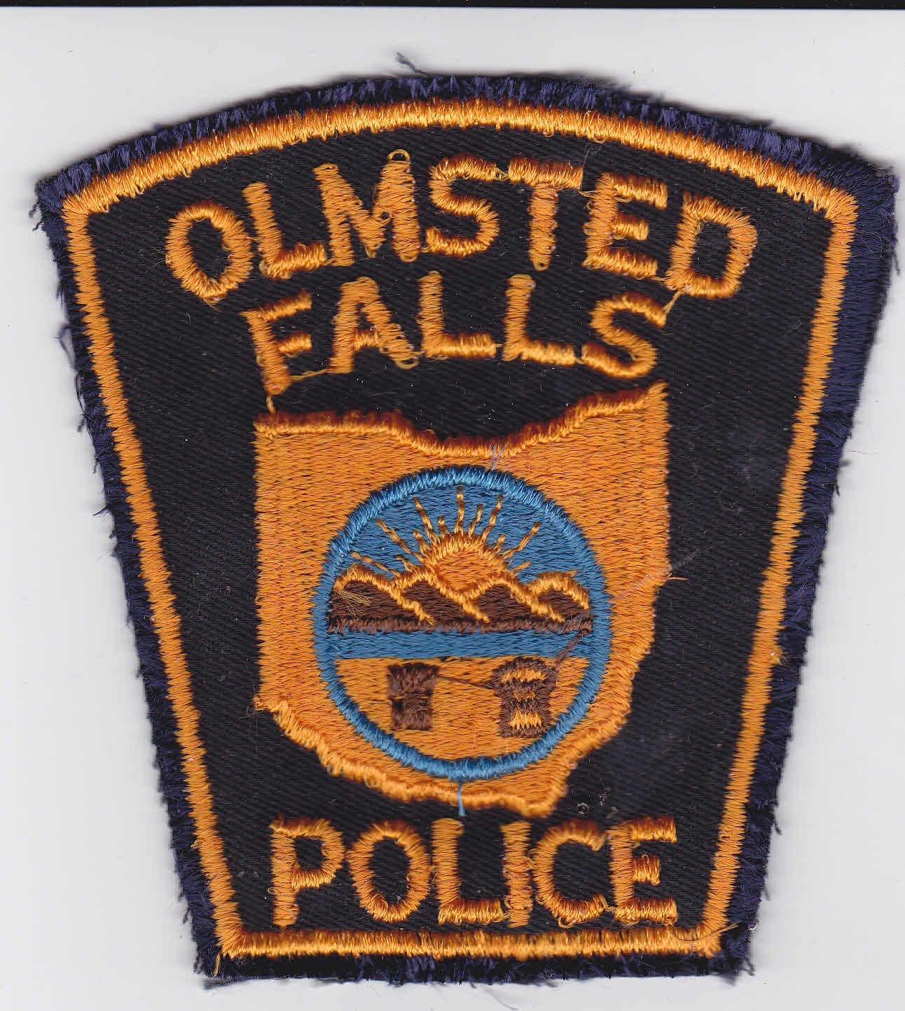 Olmstead Falls OH Police Shoulder Patch Uniform