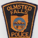 Olmstead Falls OH Police Shoulder Patch Uniform