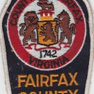 Fairfax County VA Police Shoulder Patch Uniform
