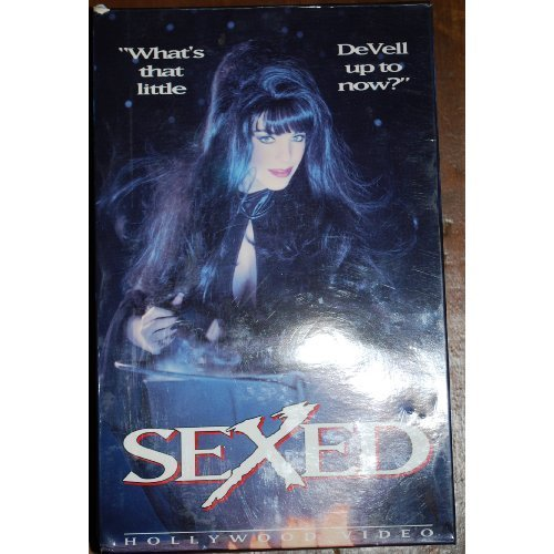 Sexed Adult VHS Movie Hollywood Video Alexis DeVell