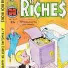 Richie Rich Riches Comic Book No 39 1978