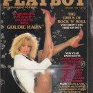 Playboy January 1985 Mens Magazine Vintage Goldie Hawn