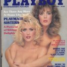 Playboy April 1985 Hot Smith Sisters Sexy Mens Magazine