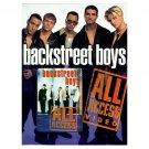 All Access [VHS] Backstreet Boys Movie Video