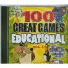 100 Great Educational Games Vol 4 CD PC Game Windows