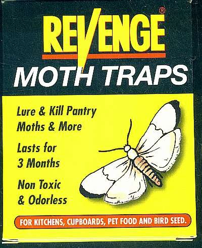 3 Pkg (6 Traps) Pheromone Pantry Moth Trap. Free Shipping