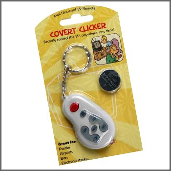COVERT CLICKER Turn On/Off TVs And More - Great Fun