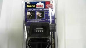 HITCH SAFE Solid Steel Combo Hitch Receiver Vault