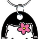 Key Chains: HELLO KITTY- Hello Kitty Black Key Chain