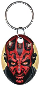 Key Chains: STAR WARS -Darth Maul Key Chain