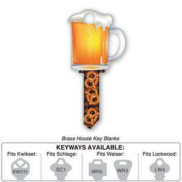 Key Blank: B110S BEER MUG SCHLAGE