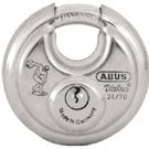 "Padlocks: Abus 24IB/60KA 0306 2 3/8"" W/STAINLESS STL SHACKLE"