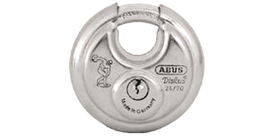 "Padlocks: Abus 28/70KA 0026 2 3/4"" BUFFO DISKUS"