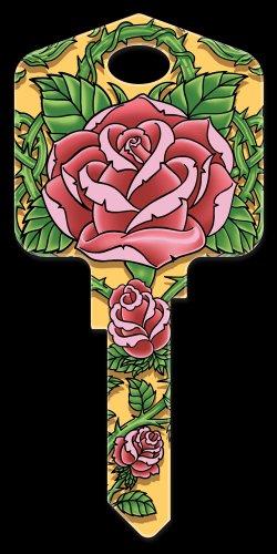 Key Blanks: Key Blank AI5 - Roses - Schlage