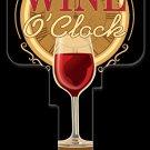 Key Blanks: Key Blank AC7 - Wine O'Clock - Schlage