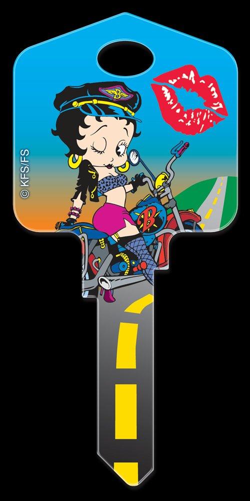 Key Blanks: Key Blank B1 - Biker Betty - Schlage