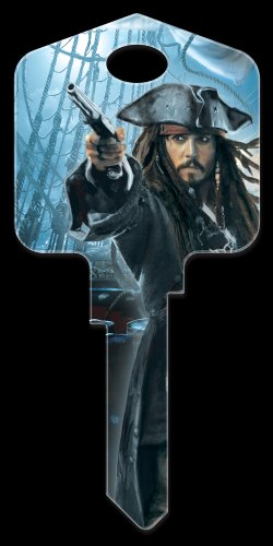 Key Blanks: Key Blank D27 - Disney's Capt'n Jack Sparrow - Kwikset