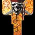 Key Blanks: Key Blank D28 - Disney's Skull & Swords - Weiser