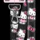 "Lanyards:DISNEY-21"" Breakaway Lanyard SRL3 - Black/Pink"