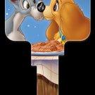 Key Blanks: Key Blank D73 - Disney's Lady & The Tramp- Kwikset