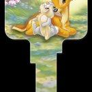 Key Blanks: Key Blank D79 - Disney's Bambi & Thumper- Schlage