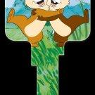 Key Blanks: Key Blank D86 - Disney's Chip 'N' Dale- Weiser