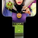 Key Blanks: Key Blank D96 - Disney's Evil Queen- Kwikset