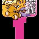 Key Blanks: Key Blank G6 - Diet Free Zone- Schlage