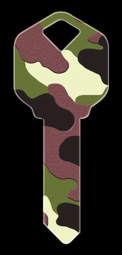 Key Blanks: Key Blank HK4 - Camouflage- Kwikset