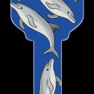 Key Blanks: Key Blank HK13 - Dolphins- Weiser