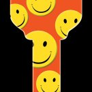 Key Blanks: Key Blank HK3 - Happy Faces- Schlage