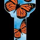 Key Blanks: Key Blank HK19 - Butterflies- Kwikset