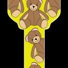Key Blanks: Key Blank HK33 - Teddy Bear- Kwikset